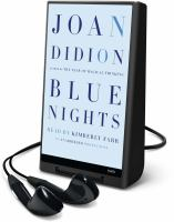 Blue nights (AUDIOBOOK)