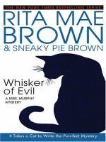 Whisker of evil (LARGE PRINT)