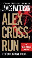 Alex Cross, run (AUDIOBOOK)