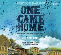 One came home (AUDIOBOOK)