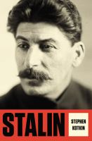 Stalin. Volume 1, Paradoxes of power, 1878-1928