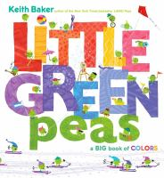 Little green peas : a big book of colors
