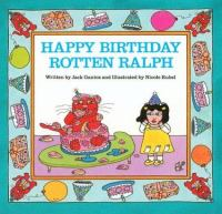 Happy birthday Rotten Ralph