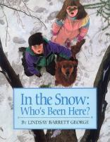 In the snow : who's been here?