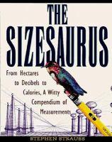The sizesaurus