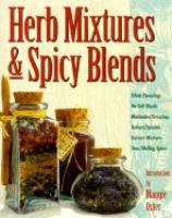 Herb mixtures & spicy blends
