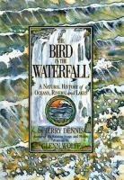 Bird in the waterfall
