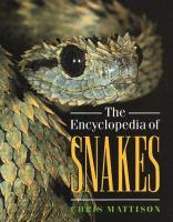 Encyclopedia of snakes