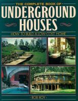 Complete book of undeground homes