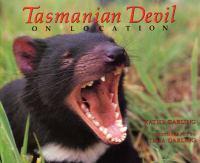 Tasmanian devil on location