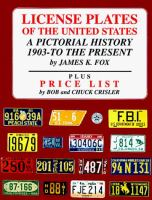 License plates of the United States : a pictorial history 1903 to the present