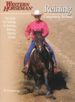 Reining : the guide for training & showing winning reining horses