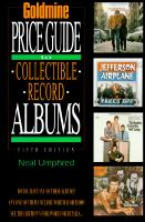 Goldmine Price Guide To Collectible Record Albums
