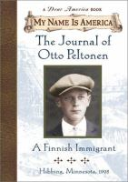The Journal of Otto Peltonen : A Finnish Immigrant