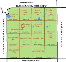 Townships of Kalkaska County, Michigan