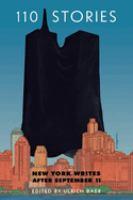 110 Stories : New York writes after September 11