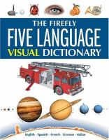 The Firefly Five Language Visual Dictionary