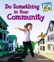 Do something in your community