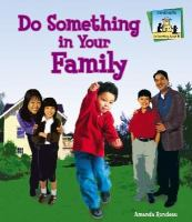 Do something in your family