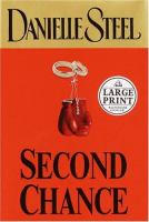 Second chance (LARGE PRINT)