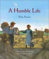 A humble life : plain poems