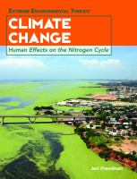 Climate change : human effects on the nitrogen cycle