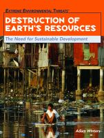 Destruction of earth's resources : the need for sustainable development