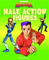 Drawing manga male action figures