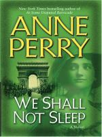 We shall not sleep (LARGE PRINT)