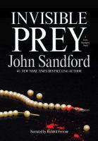 Invisible prey (AUDIOBOOK)