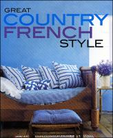 Great country French style.