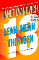 Lean mean thirteen (LARGE PRINT)