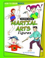 Drawing manga martial arts figures