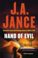 Hand of evil : a novel of suspense