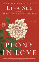 Peony in love : a novel
