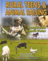 Rural teens and animal raising : large and small pets