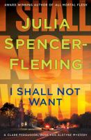I shall not want : a Clare Fergusson/Russ Van Alstyne mystery