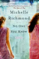 No one you know : a novel