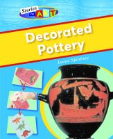 Decorated pottery