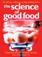 Science of good food.