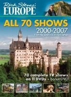 Rick Steve's Europe: all 70 shows [videorecording]