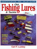 Old fishing lures & tackle