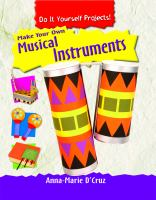 Make your own musical instruments