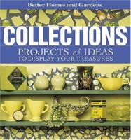 Collections : projects & ideas to display your treasures