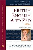British English, A to Zed