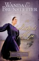 A sister's hope (book three of series Sisters of Holmes County)