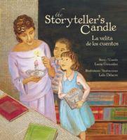 The storyteller's candle = La velita de los cuentos