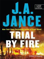 Trial by fire (LARGE PRINT)