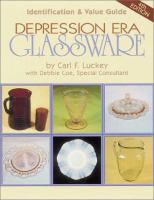 Depression era glassware : identification & value guide