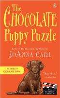 The chocolate puppy puzzle : a chocoholic mystery